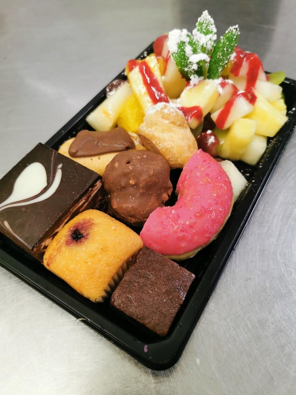 Desserten combo + vers fruit