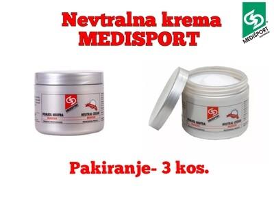 NEVTRALNA MASAŽNA KREMA - 3 kos. po 500 ml.