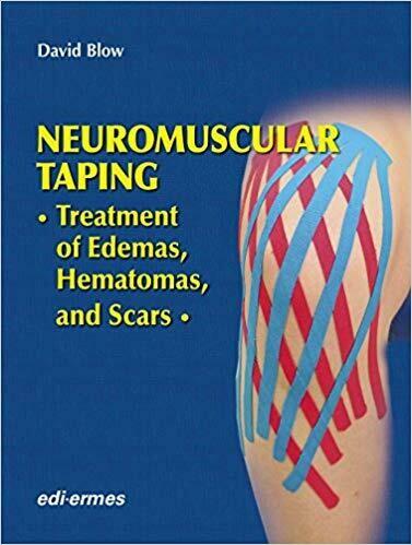 """Knjiga """"NEVRO MIŠIČNI TAPING-NMT aplikacije za edeme, hematome in brazgotine"""""""
