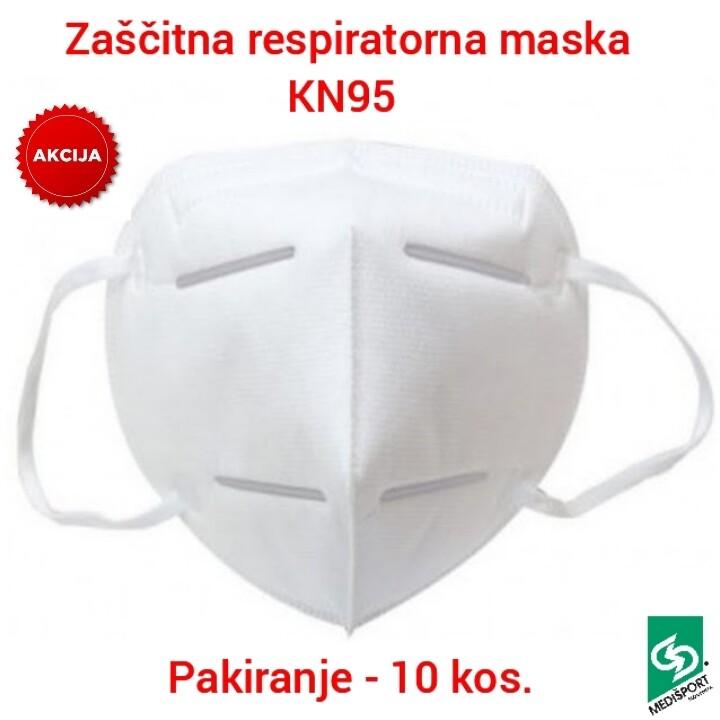 ZAŠČITNA RESPIRATORNA MASKA KN95 - 10 kos.