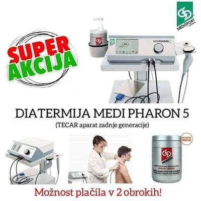 """DIATERMIJA MEDI PHARON 5 (""""TECAR aparat zadnje generacije)"""