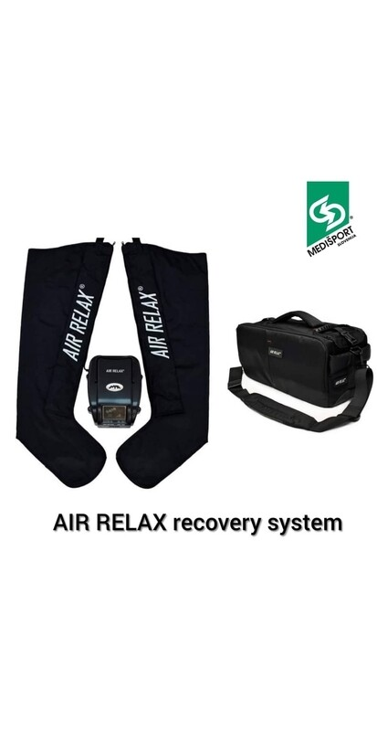 AIR RELAX recovery system s transportno torbo.