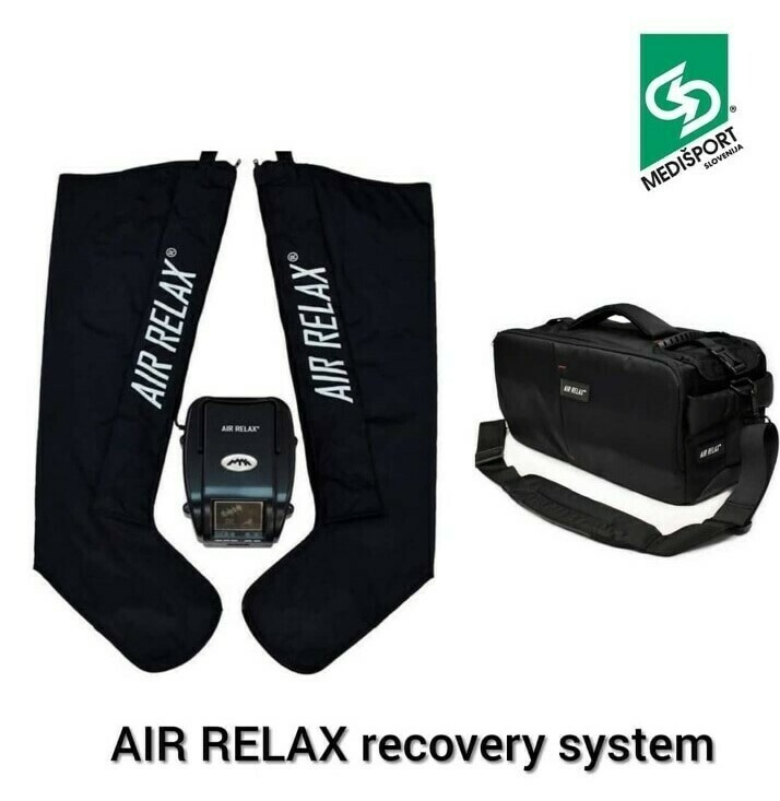 AIR RELAX recovery system s transportno torbo