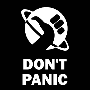 """Don't Panic"" (Mens/Ladies Shirt)"