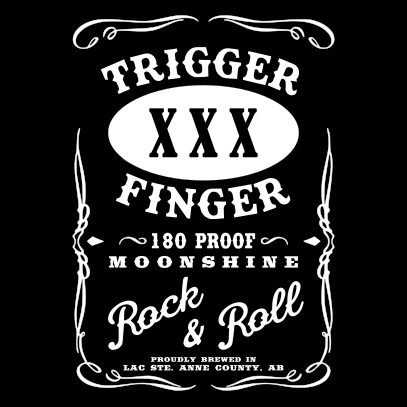 Trigger Finger Logo  (Mens/Ladies Shirt)