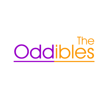 """Oddibles"" Logo (Mens/Ladies White Shirt)"