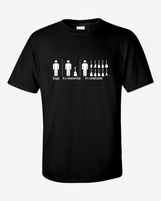"""""""It's Complicated"""" Mens Softstyle T-Shirt"""
