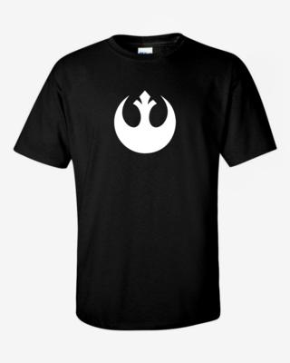 Rebel Logo - Mens Softstyle T-Shirt