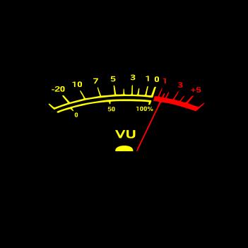 VU Meter - (Mens/Ladies Shirt)