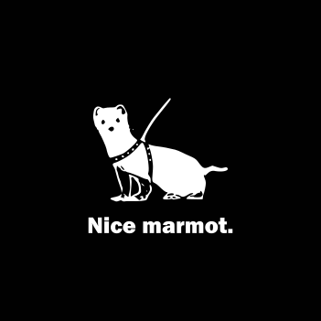 """Nice Marmot"" - (Mens/Ladies Shirt)"