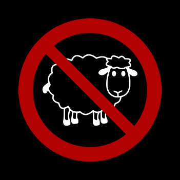 No Sheep - (Mens/Ladies Shirt)