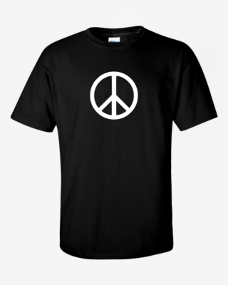 Peace Sign - Mens Softstyle T-Shirt