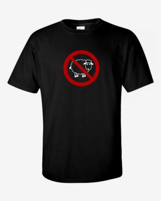 No Sheep - Mens Softstyle T-Shirt