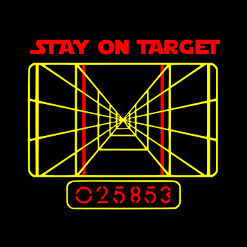 Stay on Target - (Mens/Ladies Shirt)