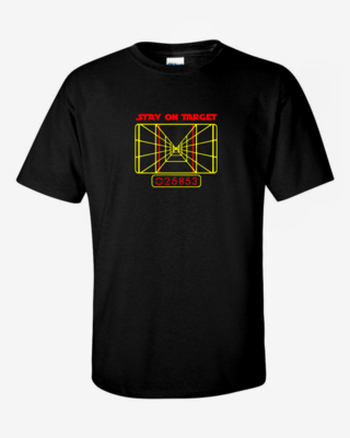 Stay on Target - Mens Softstyle T-Shirt