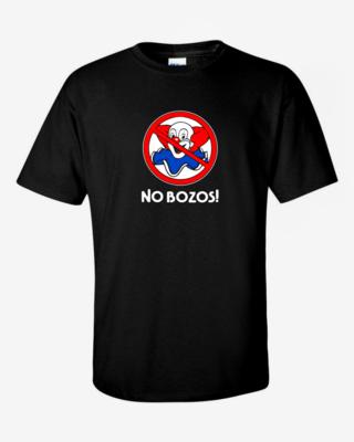 No Bozos - Mens Softstyle T-Shirt
