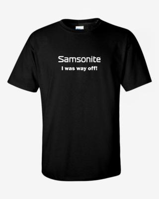 Samsonite - Mens Softstyle T-Shirt