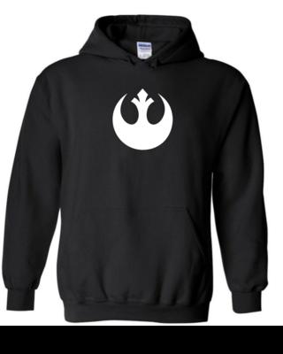 Rebel Logo - Unisex Hoodie
