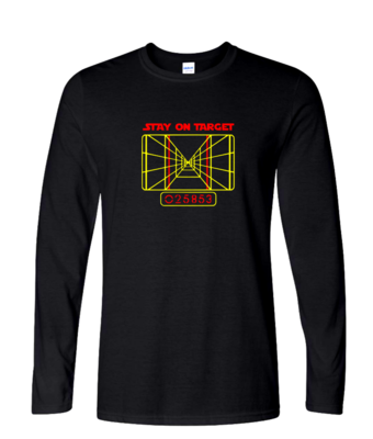 Stay On Target - Mens Long Sleeve