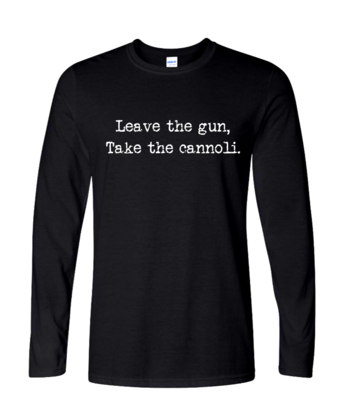 """Take the Cannoli"" - Mens Long Sleeve"