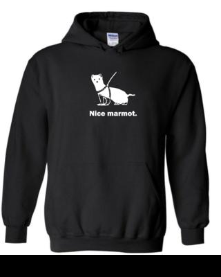 Nice Marmot - Unisex Hoodie