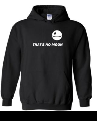 """That's No Moon"" - Unisex Hoodie"