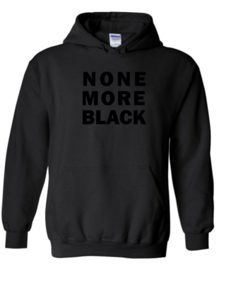 None More Black - Unisex Hoodie