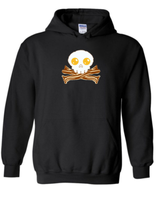 Bacon Skull - Unisex Hoodie
