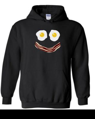Bacon Egg Smile - Unisex Hoodie