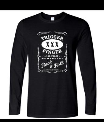 Trigger Finger Logo - Mens Long Sleeve