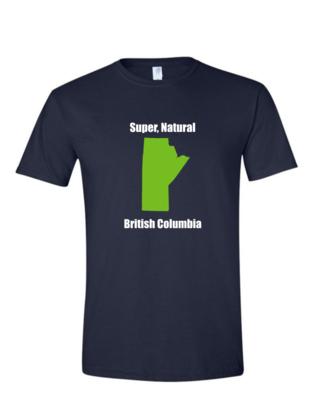 British Columbia - Mens Softstyle T-Shirt