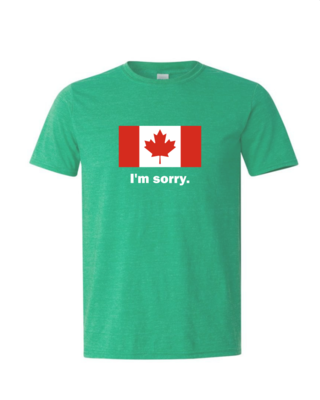 I'm Sorry - Mens Softstyle T-Shirt