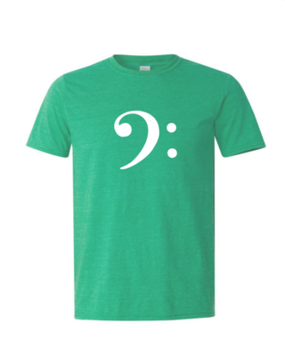 Bass Clef - Mens Softstyle T-Shirt