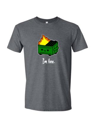 Dumpster Fire - Mens Softstyle T-Shirt