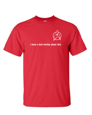 Red Shirt - Mens Softstyle T-Shirt