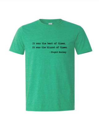 Blurst of Times - Mens Softstyle T-Shirt