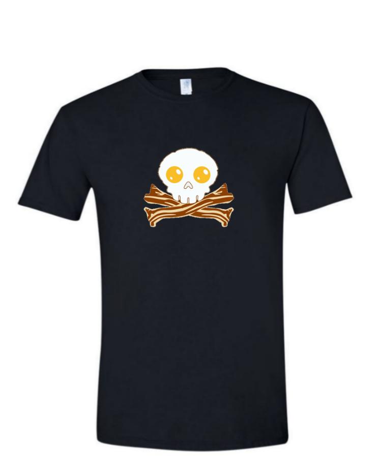 Bacon Skull - (Mens/Ladies Shirt)