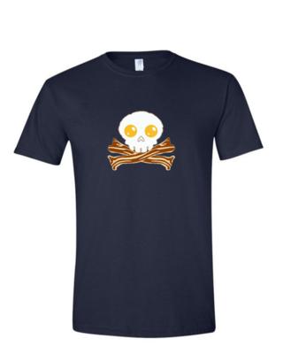 Bacon Skull - Mens Softstyle T-Shirt