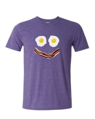 Bacon Egg Smile - Mens Softstyle T-Shirt
