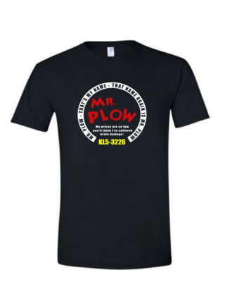 Mr. Plow - Mens Softstyle T-Shirt