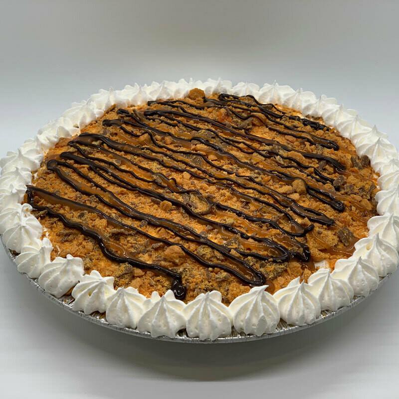 Butterfinger Ice Cream Pie
