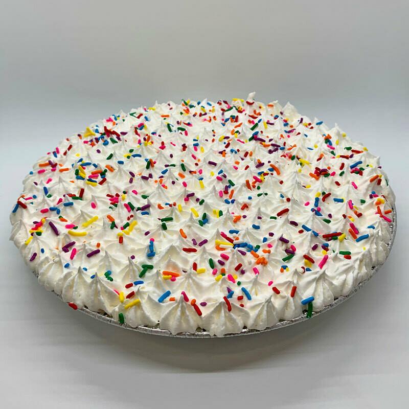 Confetti Ice Cream Pie - Vanilla