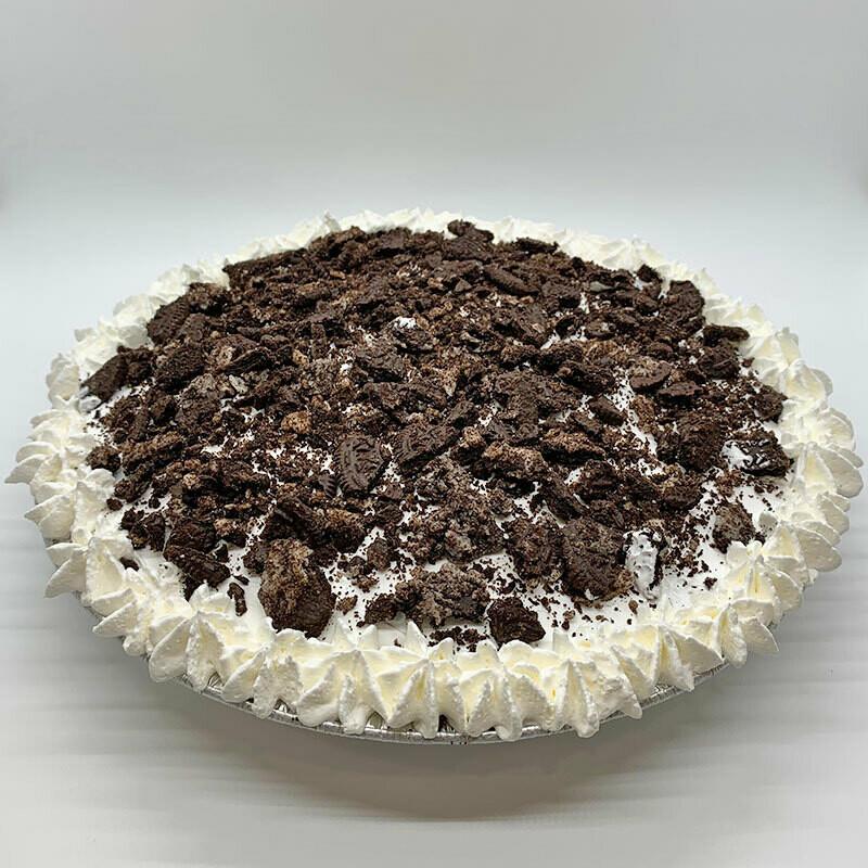 Oreo Cookie Ice Cream Pie
