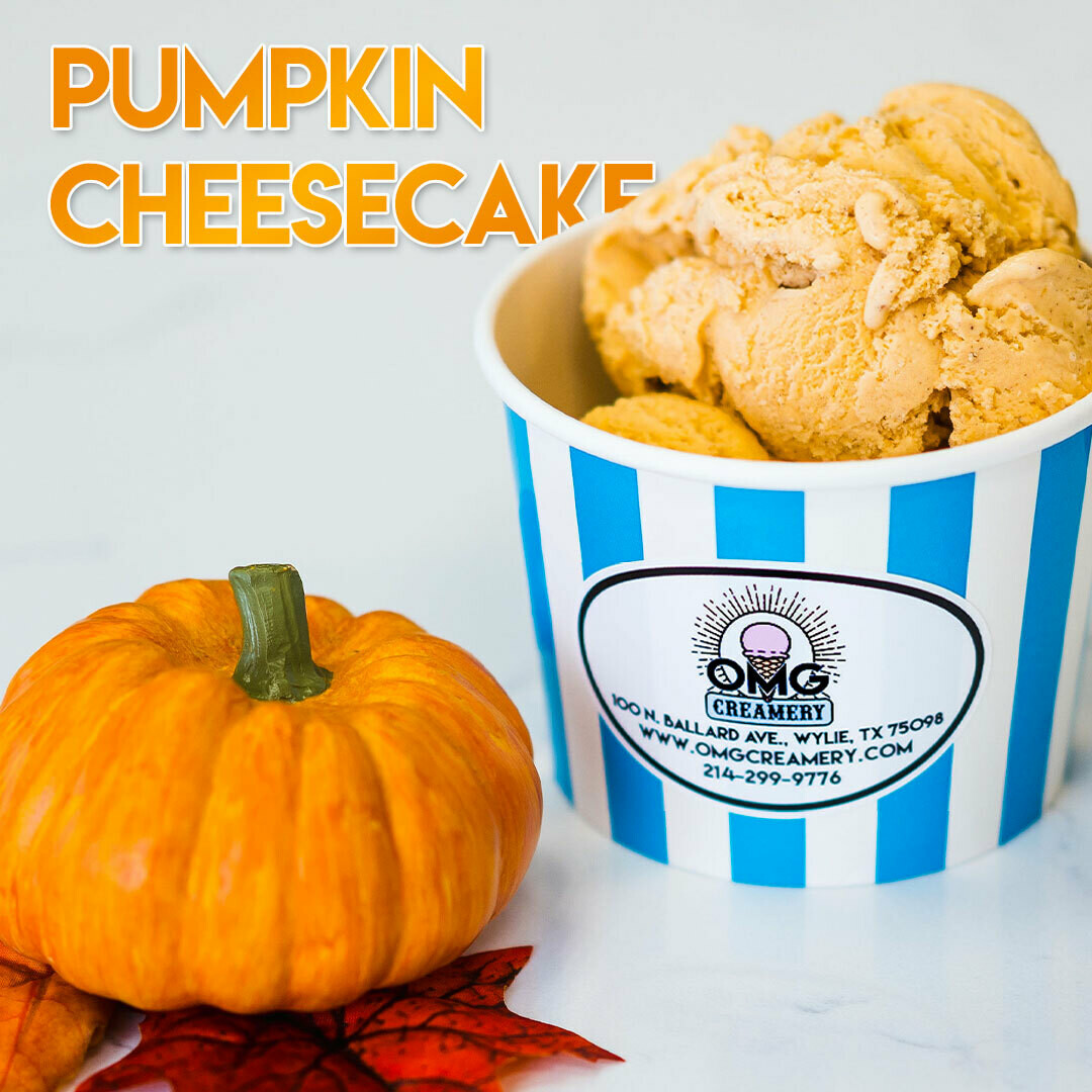 Pumpkin Cheesecake Ice Cream