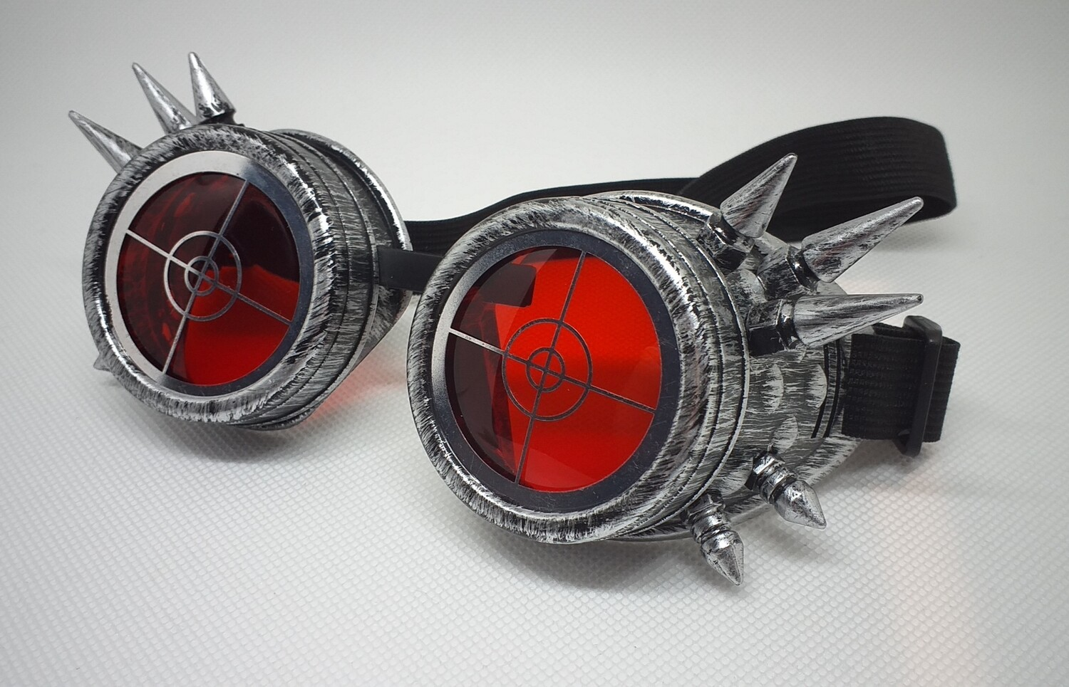 Decorated, Spiked Goggles