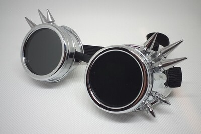 Non-Decorated, Spiked Goggles