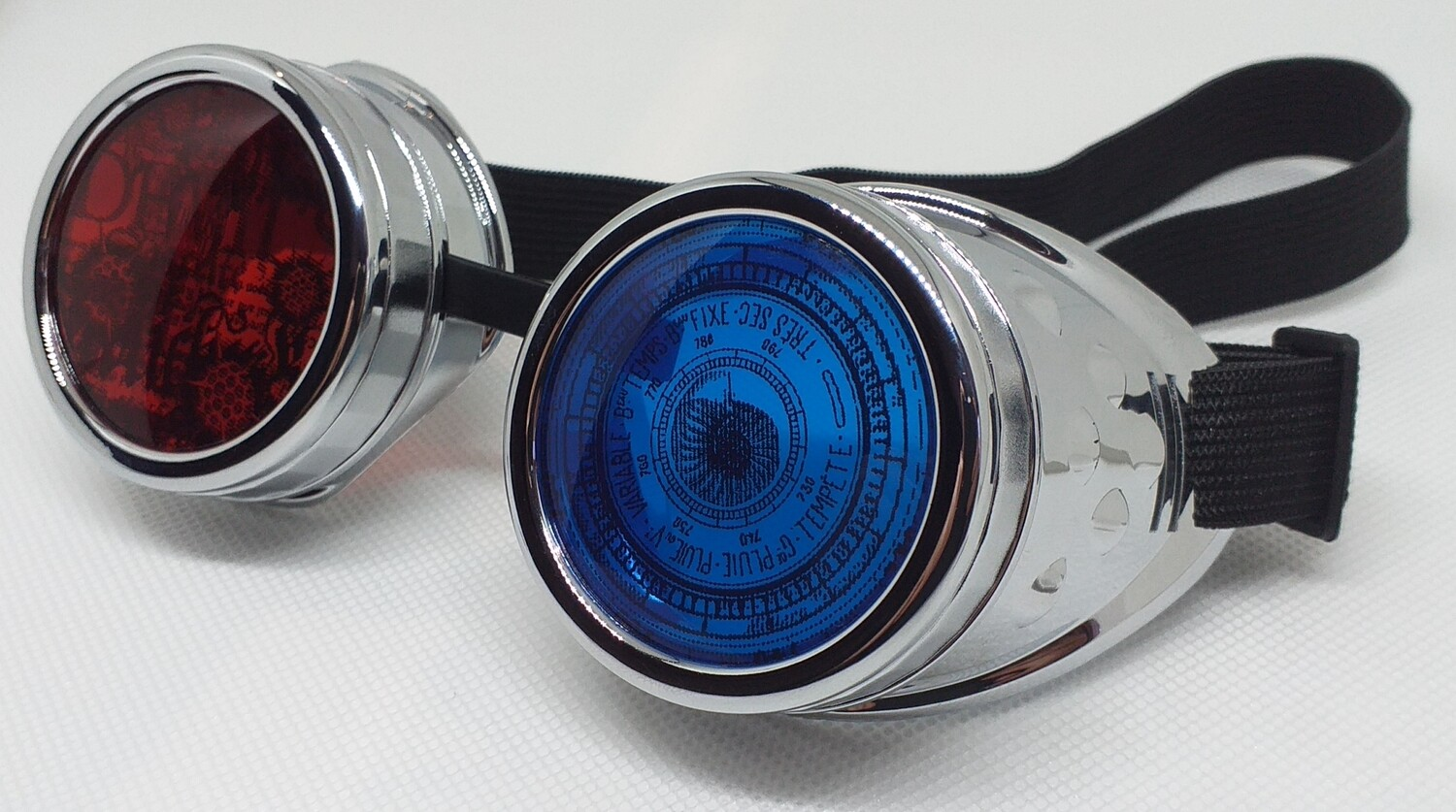 Non-Spiked, Decorated Goggles