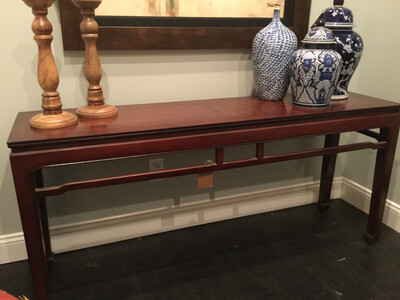 157 Henredon Console Table