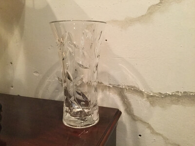 145 Lead Crystal Vase