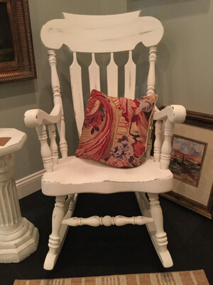 Rocking Chair Painted